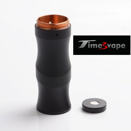 Timesvape Keen Mech Mod Stacked Tube - Matt BLACK / BRASS
