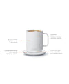 Electric Coffee Mug white, Office - Ember - Espresso Gear