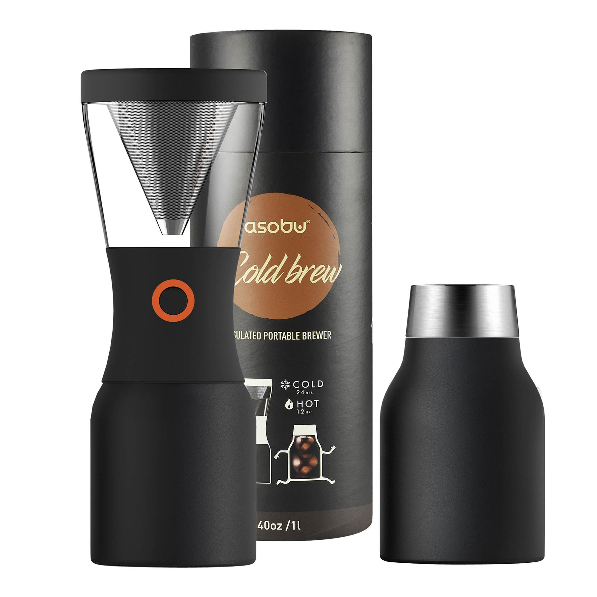 Coldbrew Black 1L - Asobu - Espresso Gear