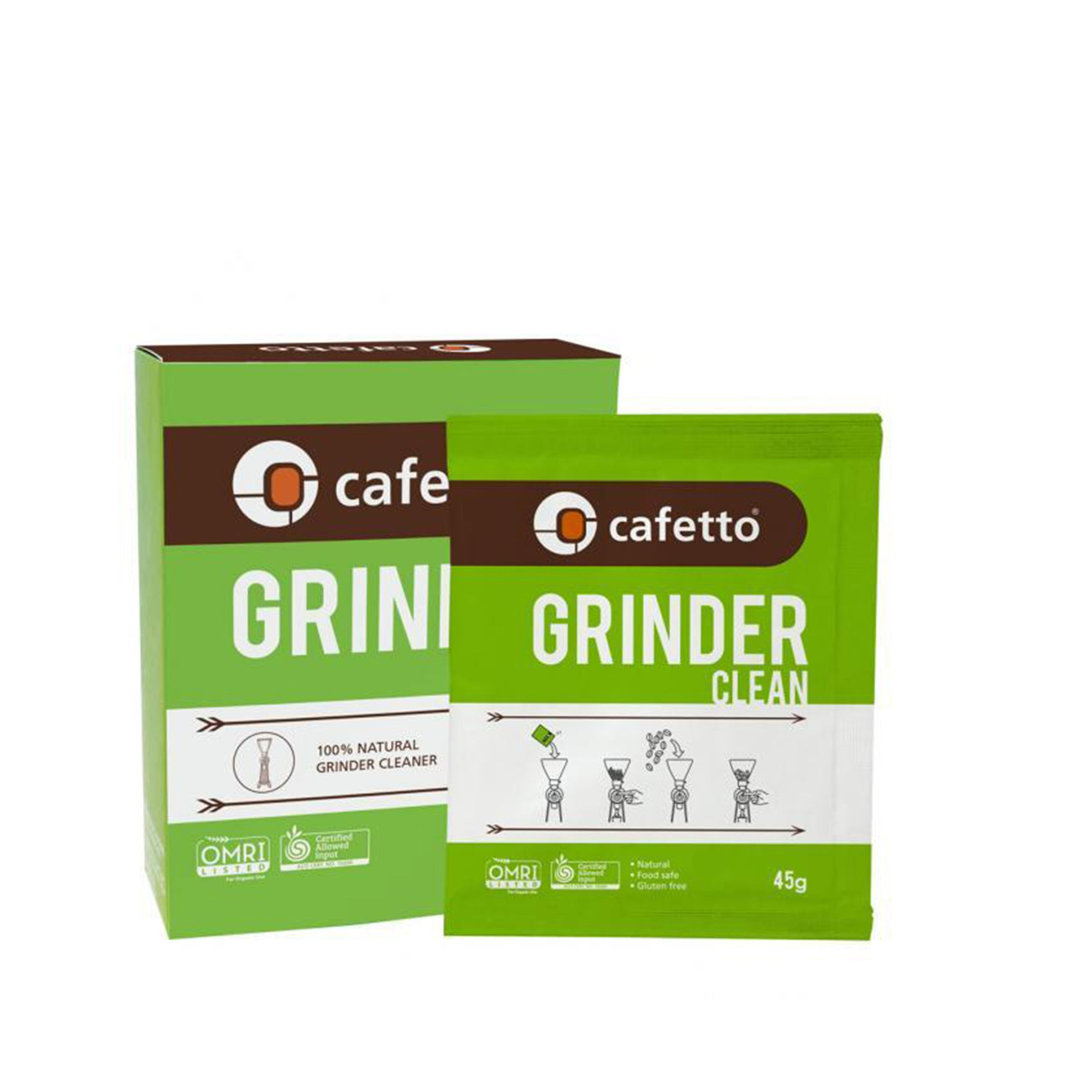 Grinder Cleaner Sachets 3x45g - Cafetto - Espresso Gear