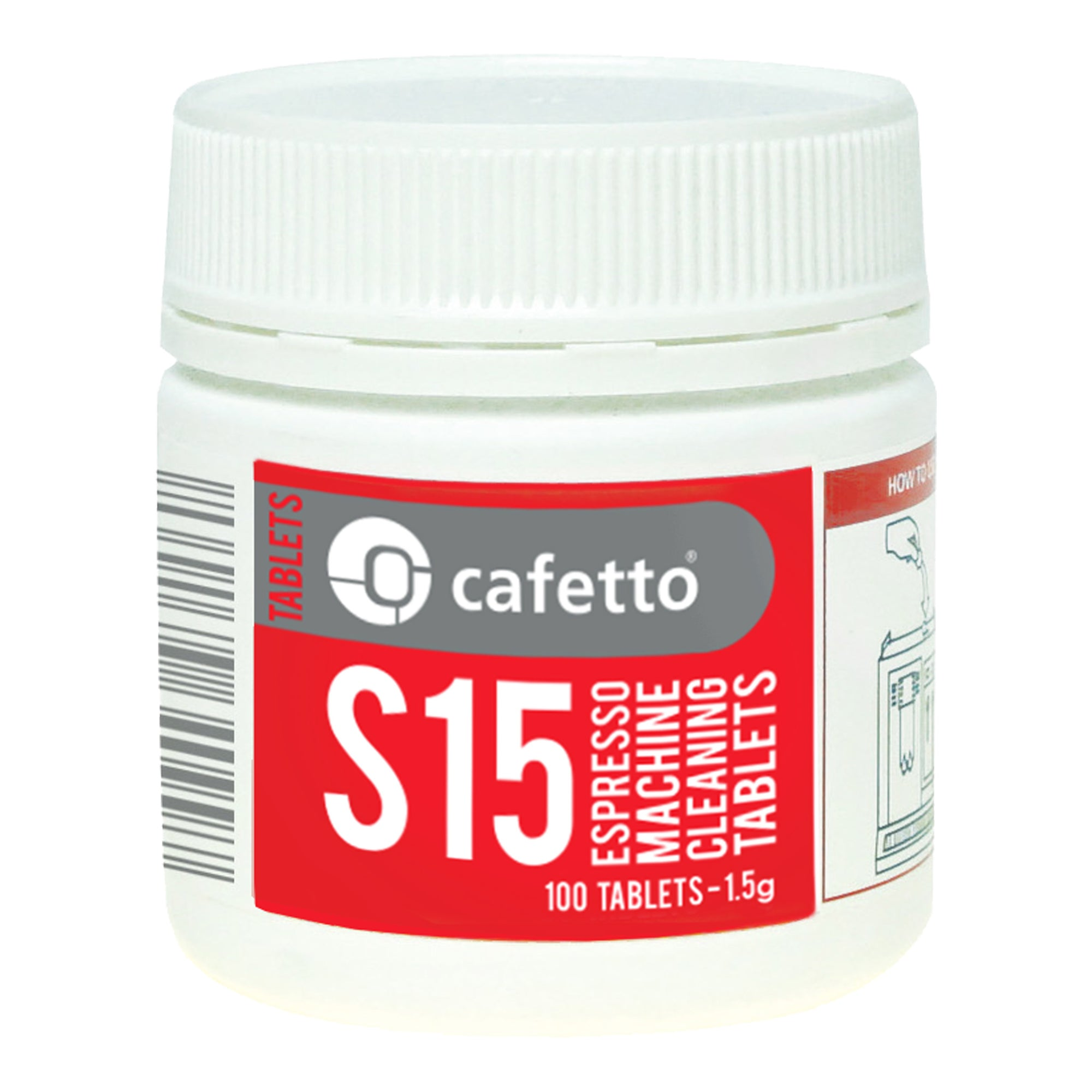 Cafetto S15 automatic machine tabs - Espresso Gear