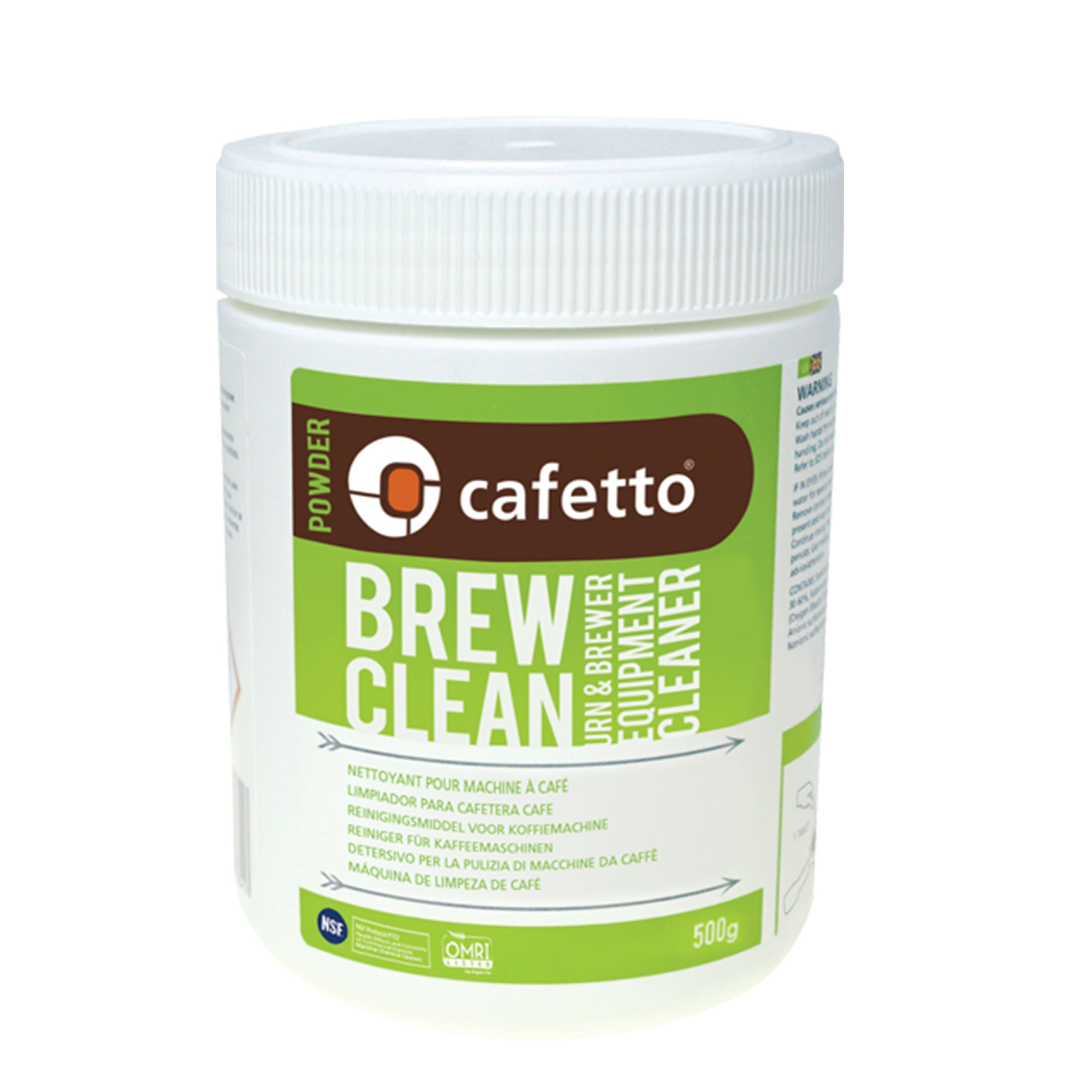 Organic Brew Clean Powder - Cafetto - Espresso Gear
