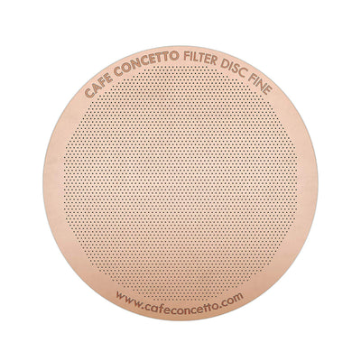 Filter Stainless S. Rose Gold - C Concetto - Espresso Gear