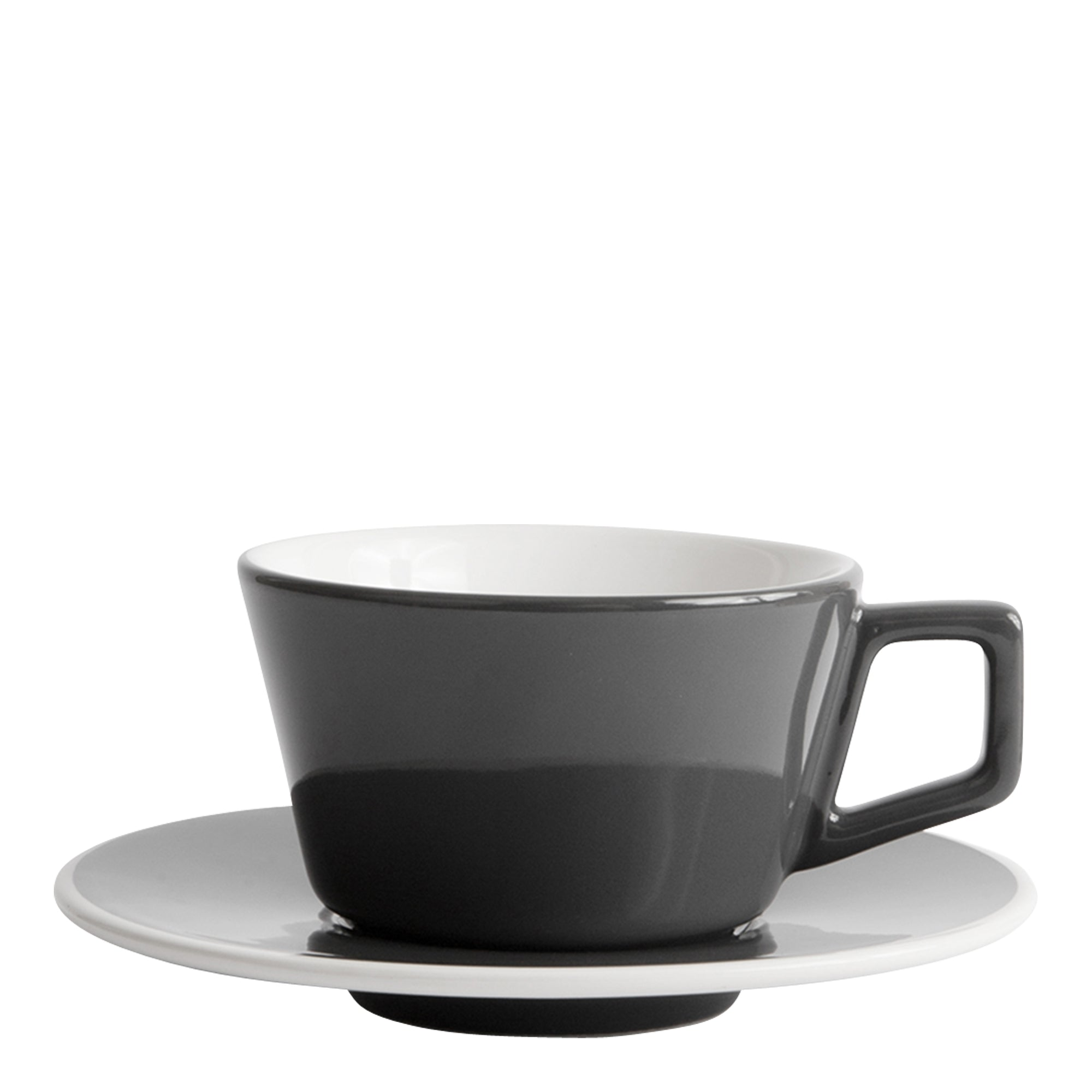 Created Co Angled Cappuccino 6oz/ 18cl - gray - Espresso Gear