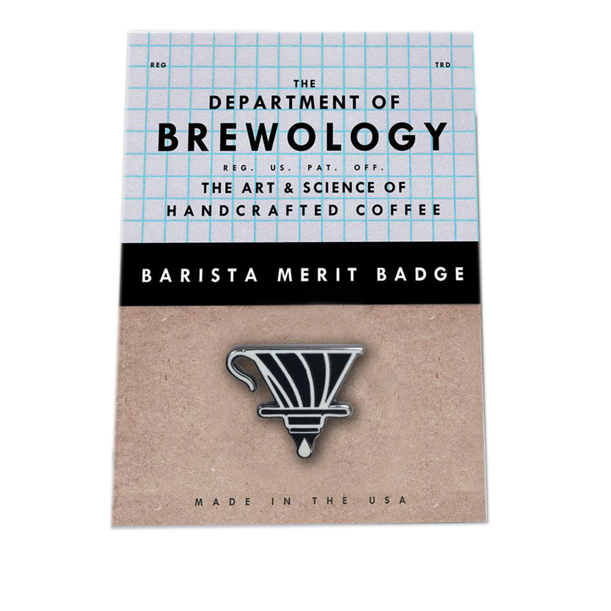 Barista Merit Badge - V60 - Dept of Brewology - Espresso Gear
