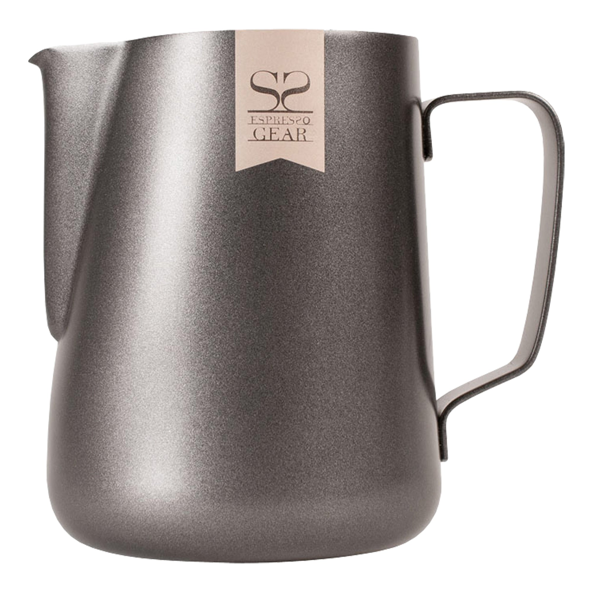 Espresso Gear Black Pitcher 350ml - Espresso Gear