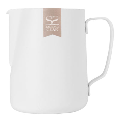 Espresso Gear White Pitcher 600ml - Espresso Gear