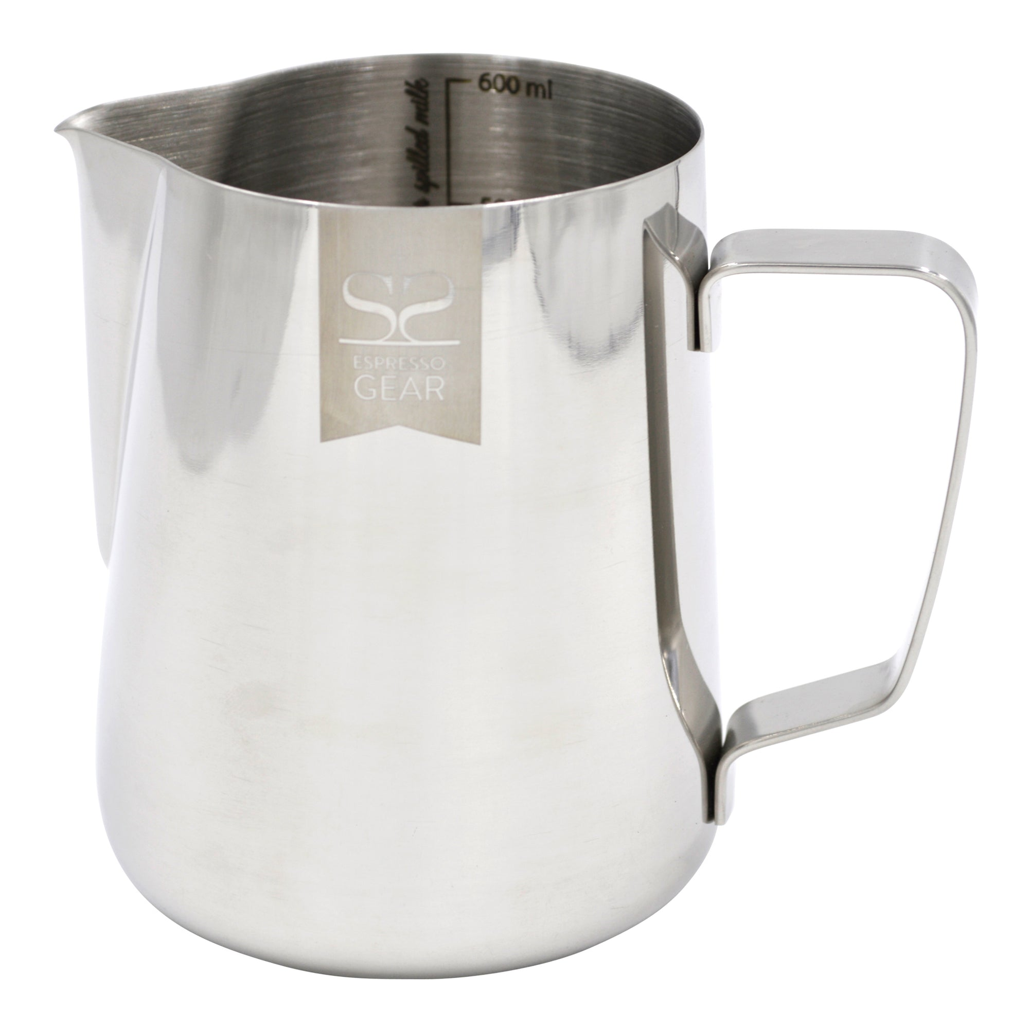 Espresso Gear Stainless Steel Pitcher 600ml - Espresso Gear