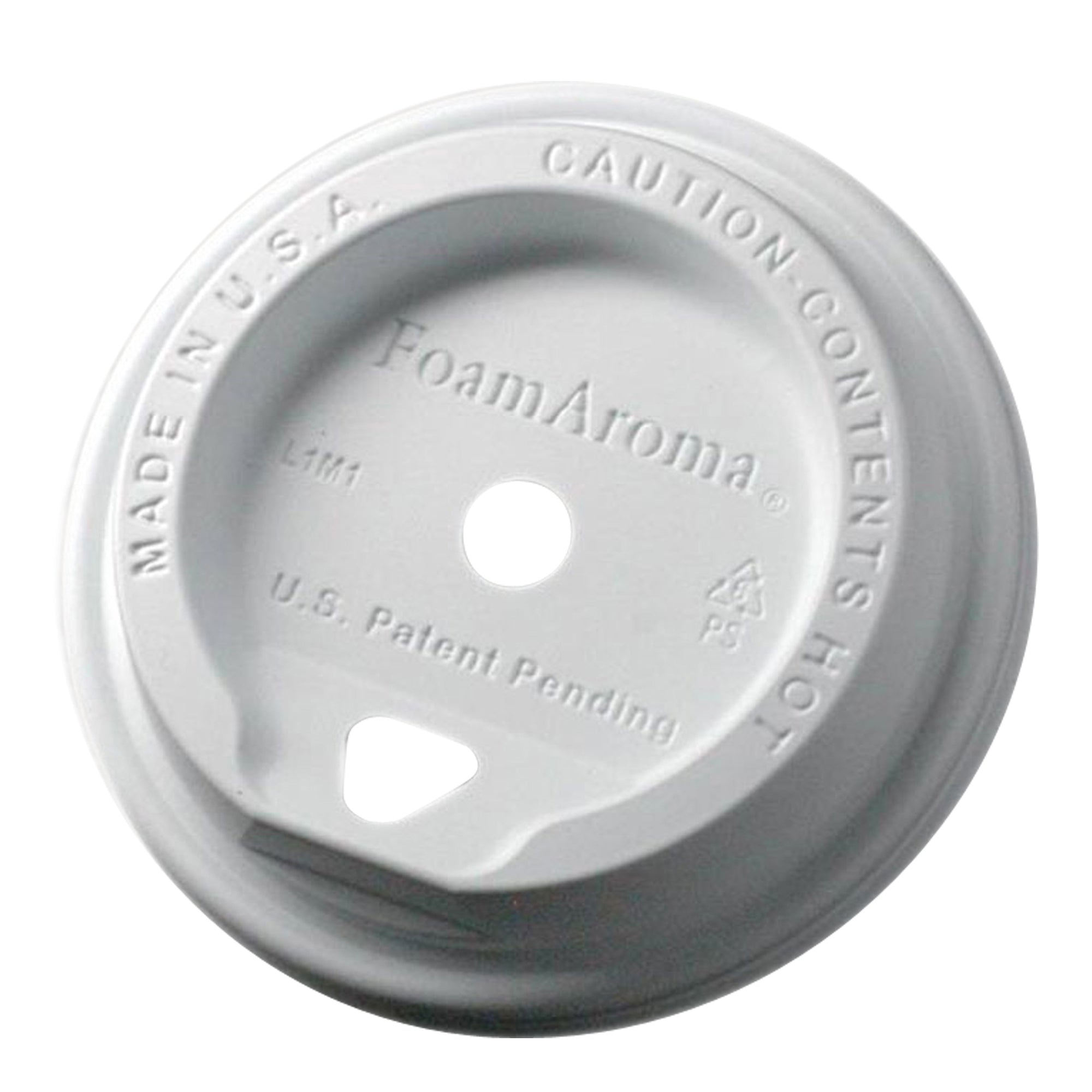 Take Away Foamaroma Lid White 1000pcs - Espresso Gear