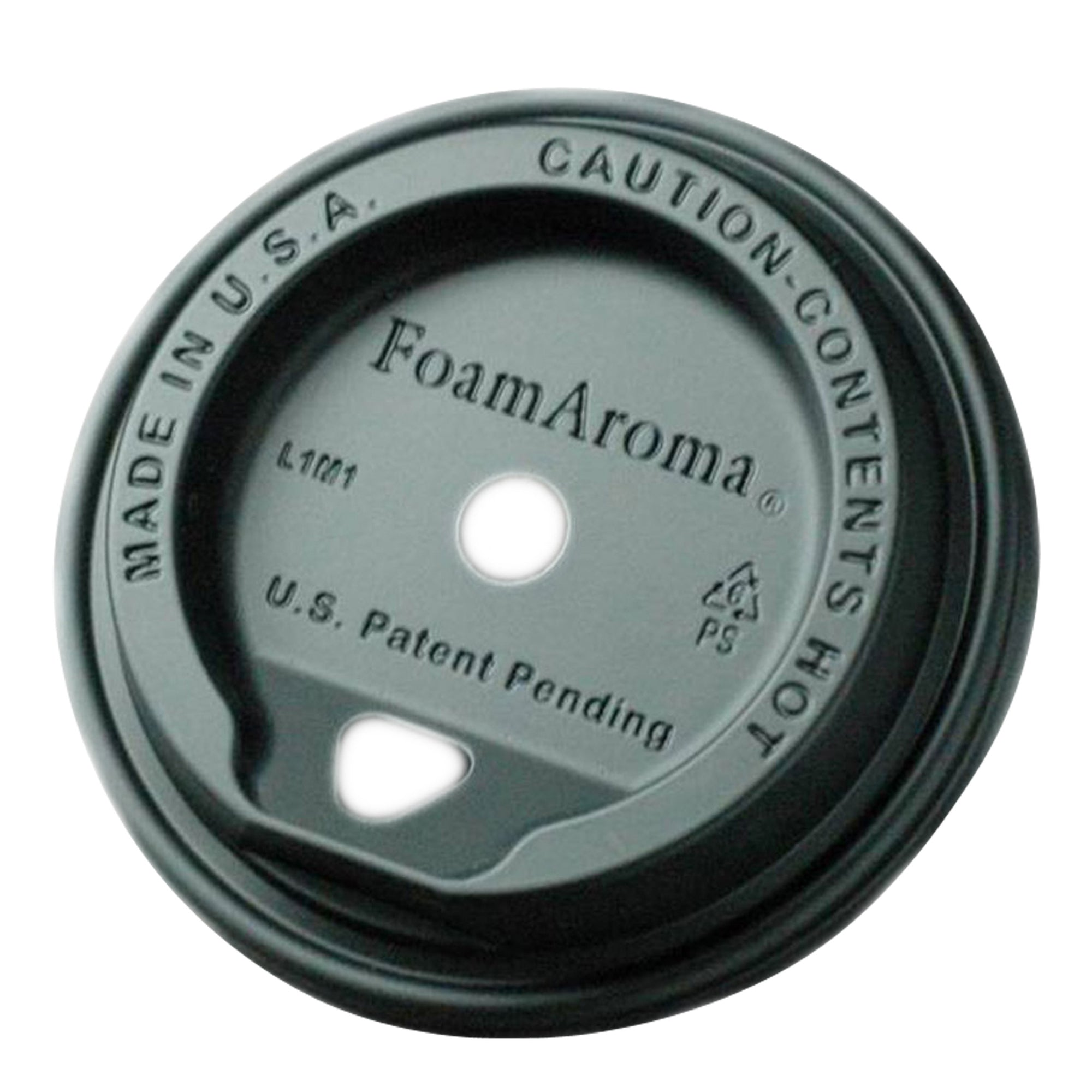 Take Away Foamaroma Lid Black 1000pcs - Espresso Gear