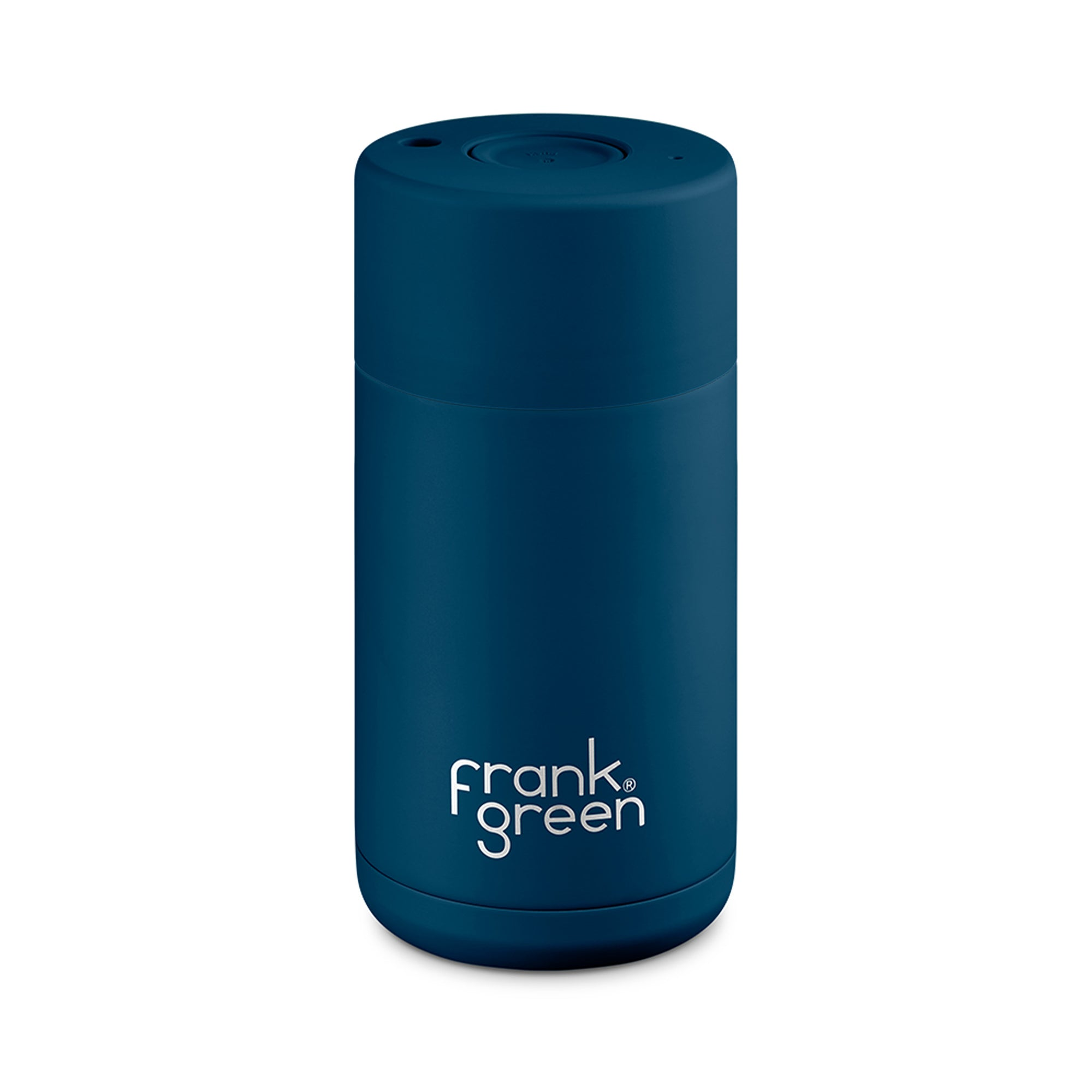 Frank Green Stainless Steel SmartCup Navy Blue - Espresso Gear
