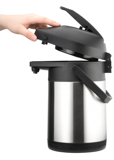 Thermos Pump 2.5L - Heirol - Espresso Gear