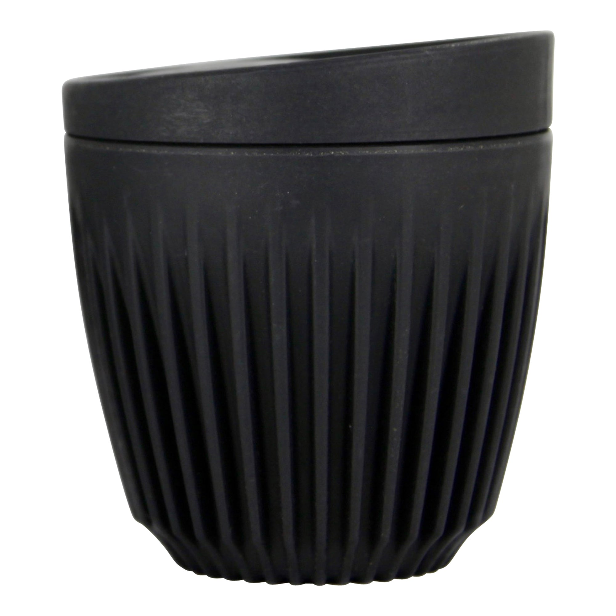 HuskeeCup - Charcoal 6oz / 175ml with lid - Espresso Gear