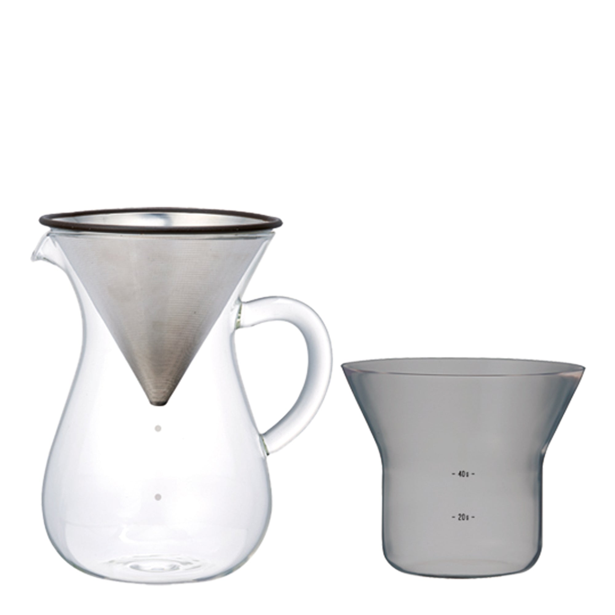 Carafe Pourover w/ SS filter 300ml - Kinto - Espresso Gear