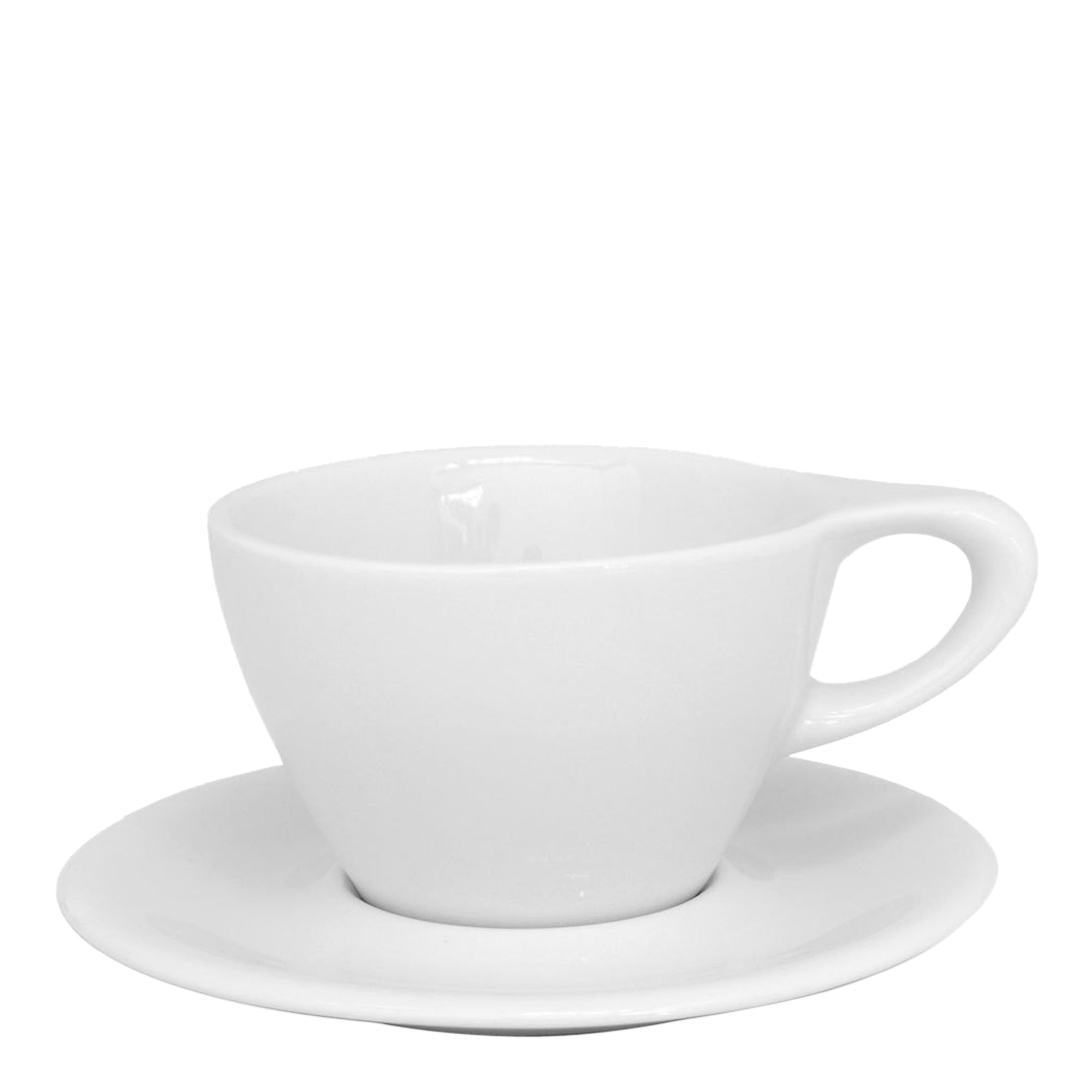 Porcelain Cup - Lino 5oz/15cl Single Cappu. - NotNeutral - Espresso Gear