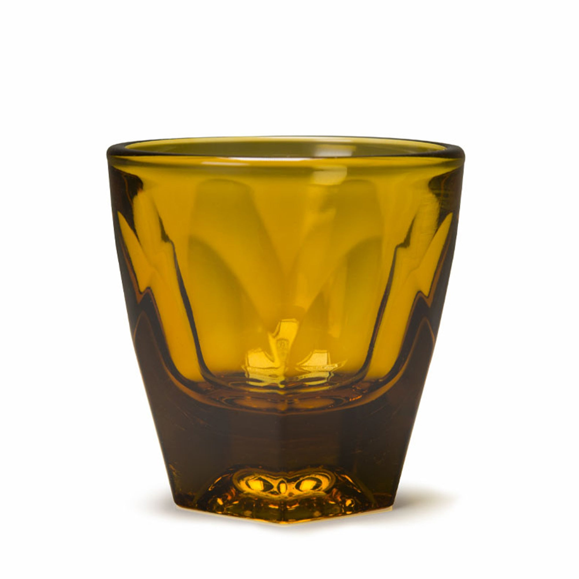 Glass Vero Amber Cortado Glass 125ml - NotNeutral - Espresso Gear