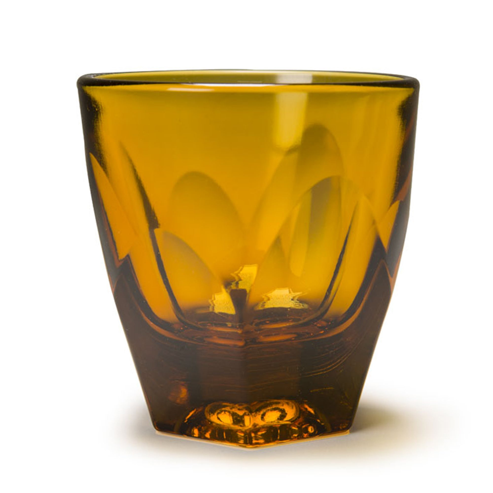 Glass Vero Amber Cappuc Glass 180ml - NotNeutral - Espresso Gear