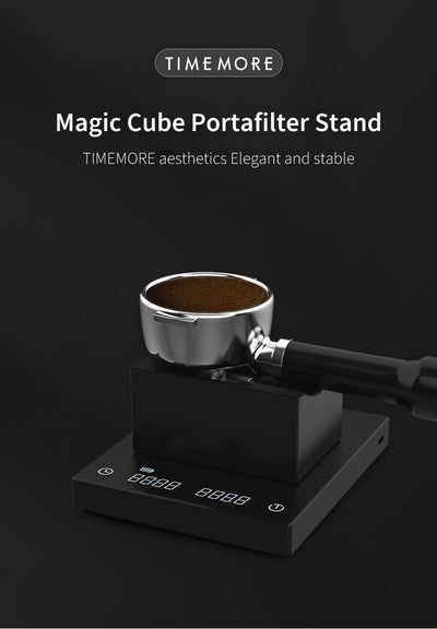 Magic Cube Portafilter Stand - Timemore - Espresso Gear