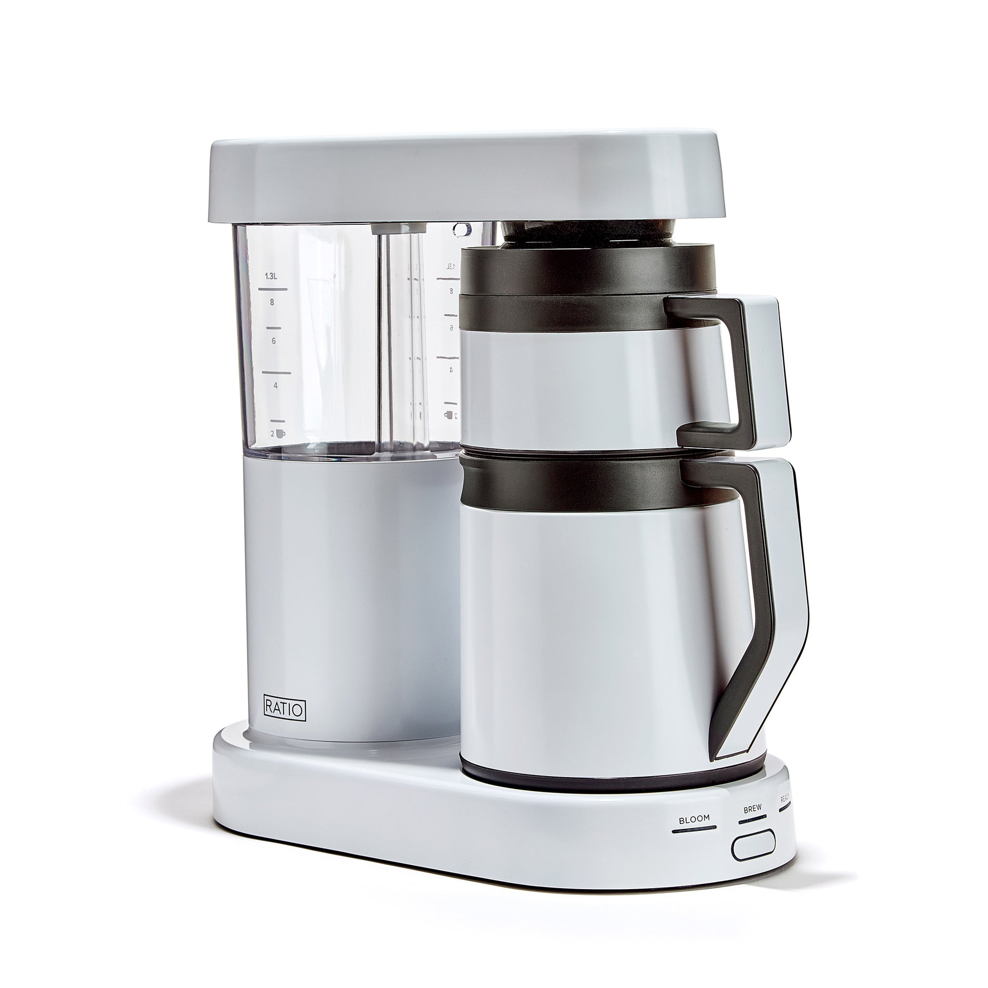 Brewer, Ratio 6 Thermo White - Ratio - Espresso Gear