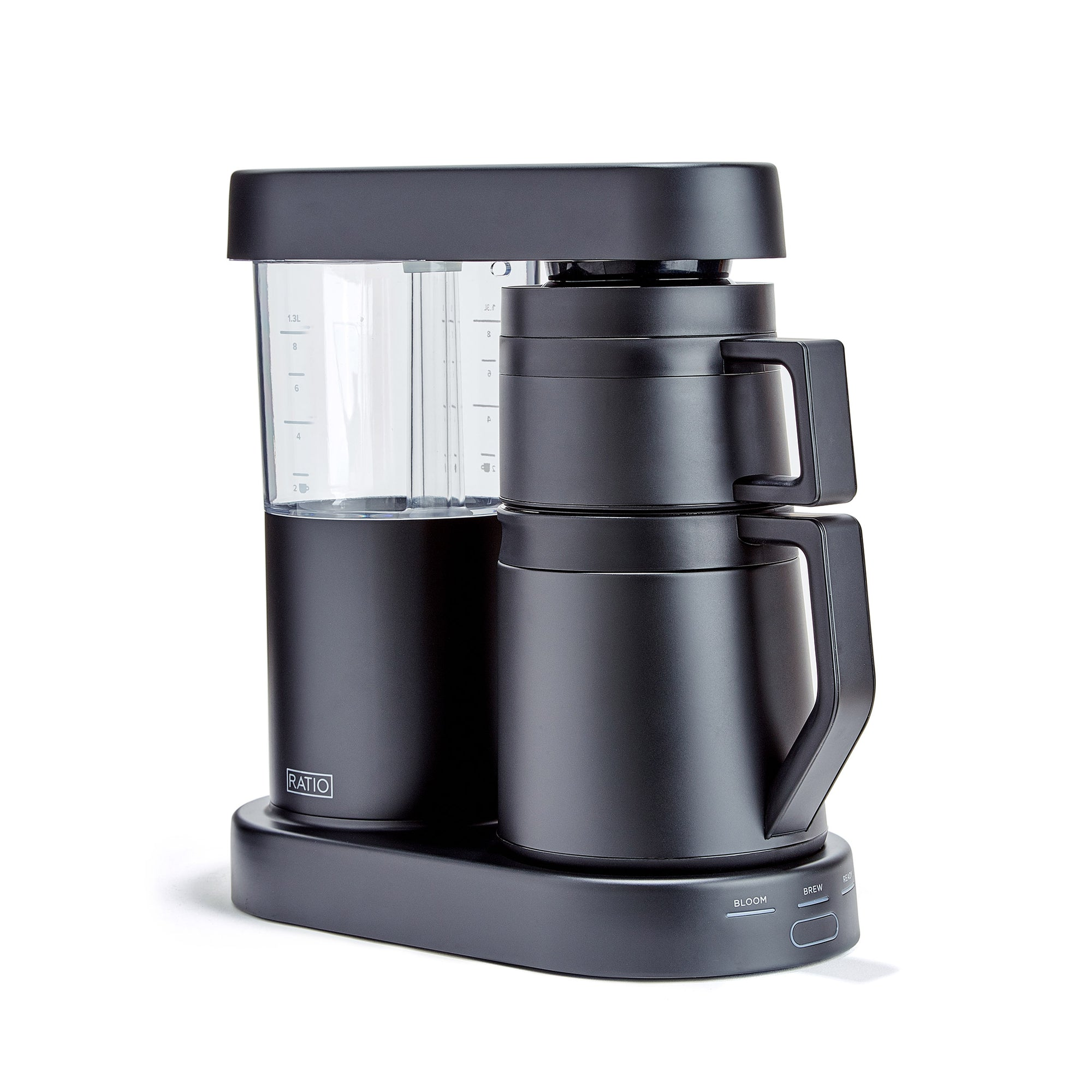 Brewer, Ratio 6 Thermo Black - Ratio - Espresso Gear