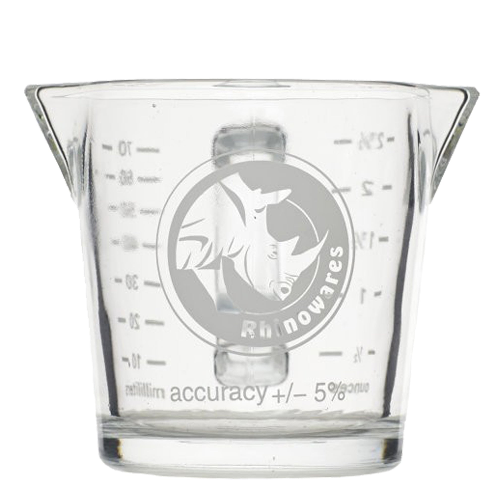 Rhino Shot Glass with handle 2.4oz / 70ml - Espresso Gear
