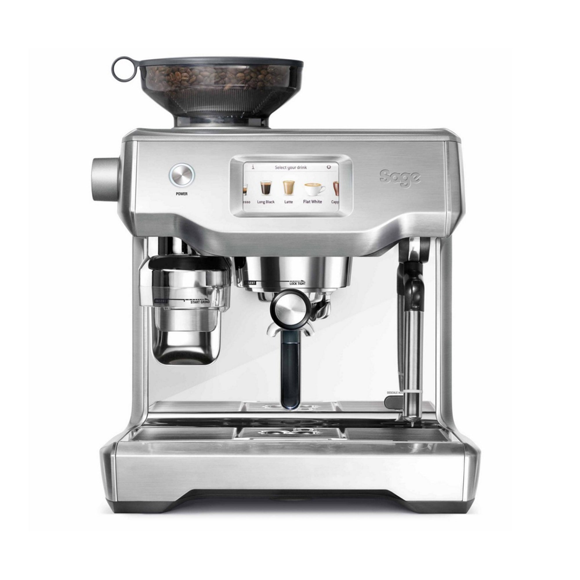 ESPRESSO MACHINE, THE ORACLE TOUCH SILVER - SAGE - Espresso Gear