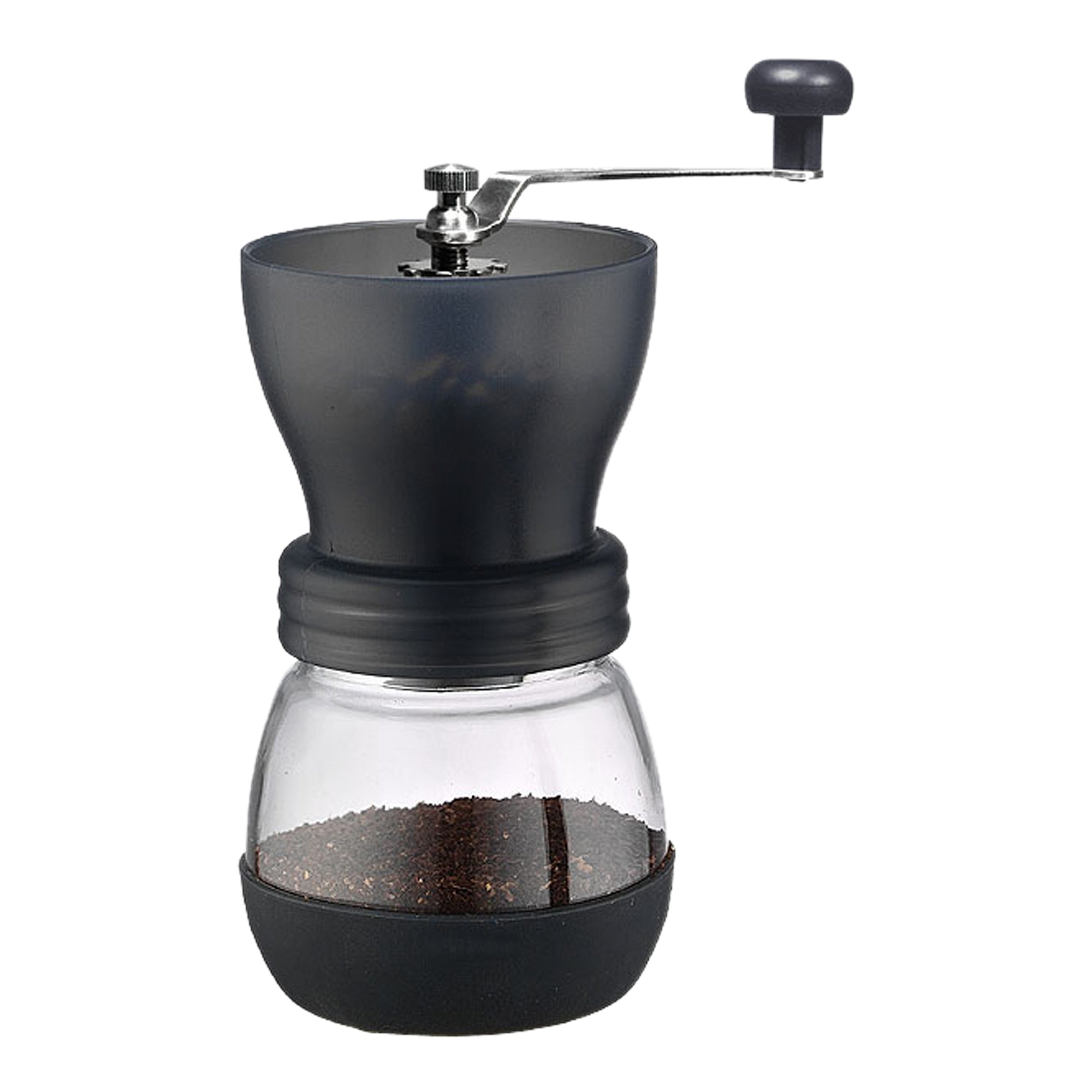 Tiamo Grinder Manual Fat black - Espresso Gear