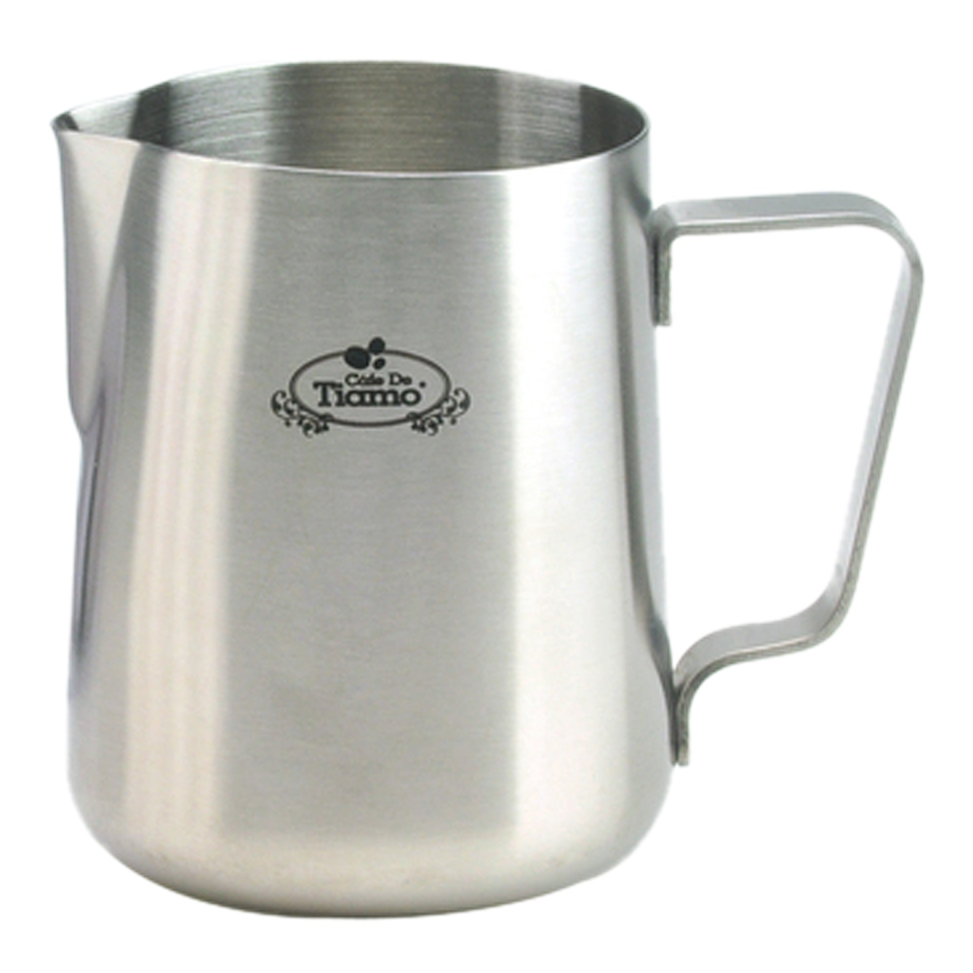 Pitcher sand polished 0.6L - Tiamo - Espresso Gear
