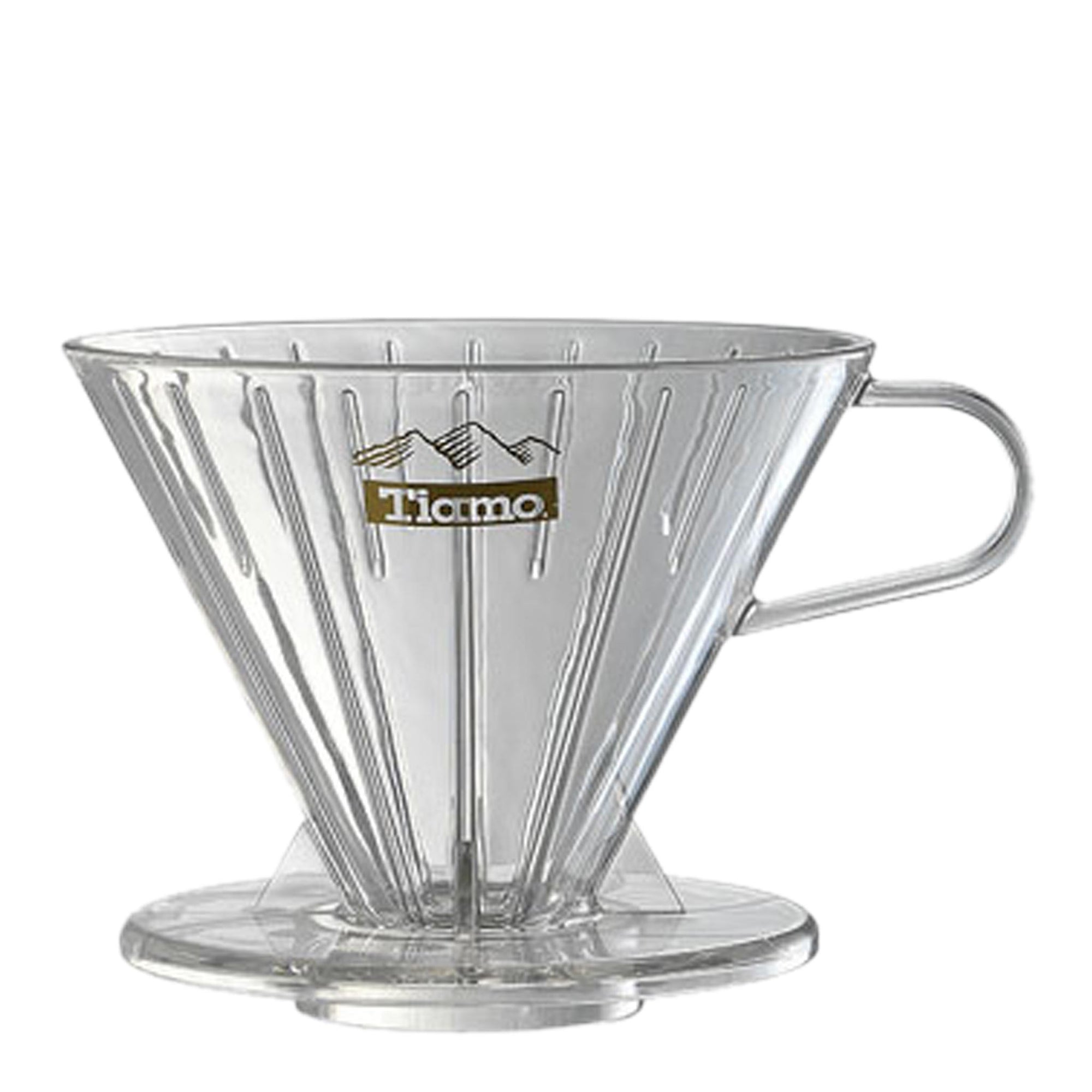 Tiamo Filter V02 Transparent - Espresso Gear