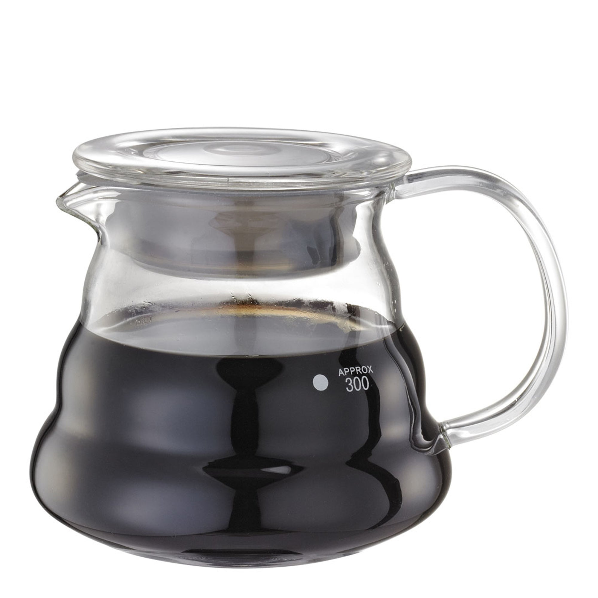 Tiamo Glass Server 0.36L - Espresso Gear