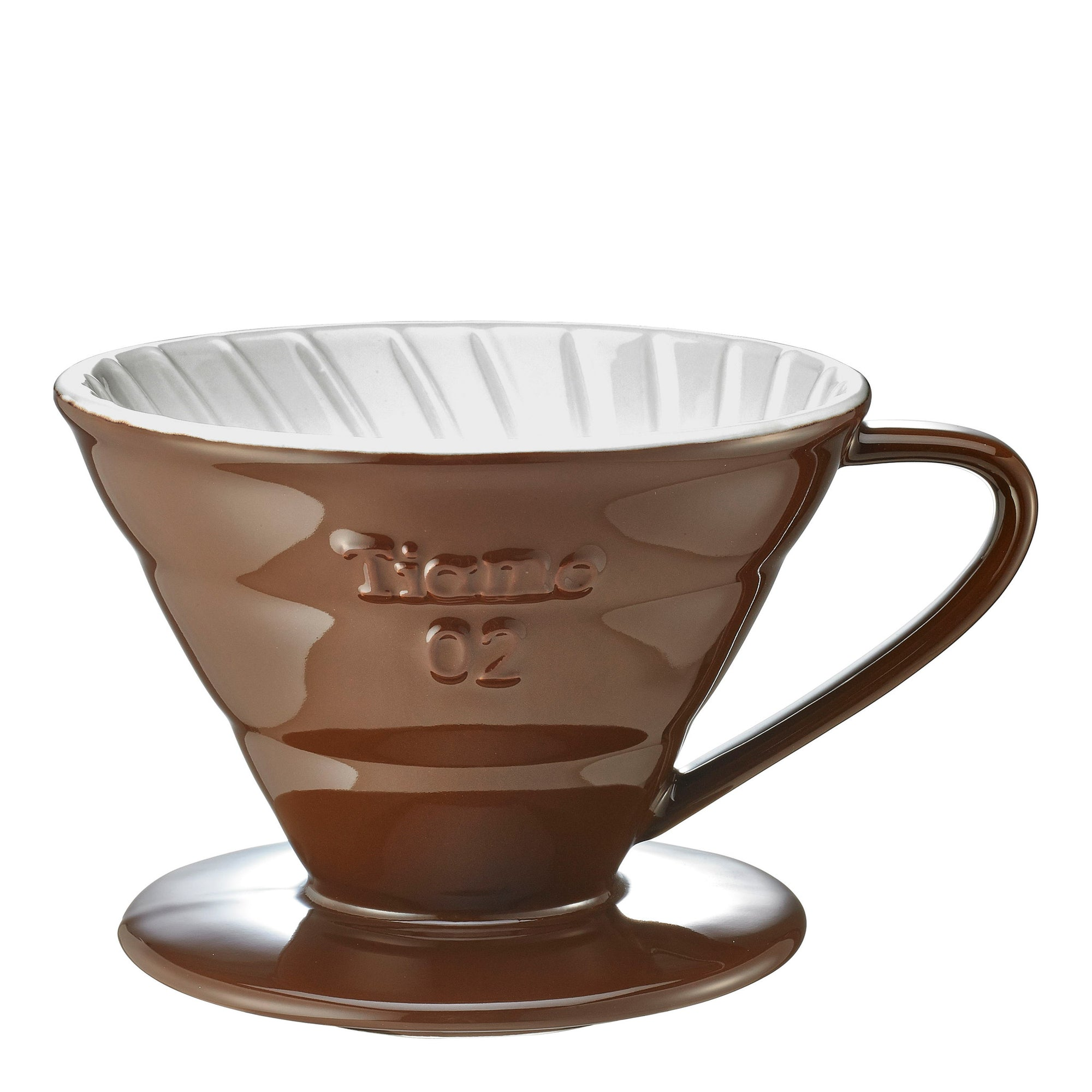 Filter V60 Ceramic - brown - Tiamo - Espresso Gear