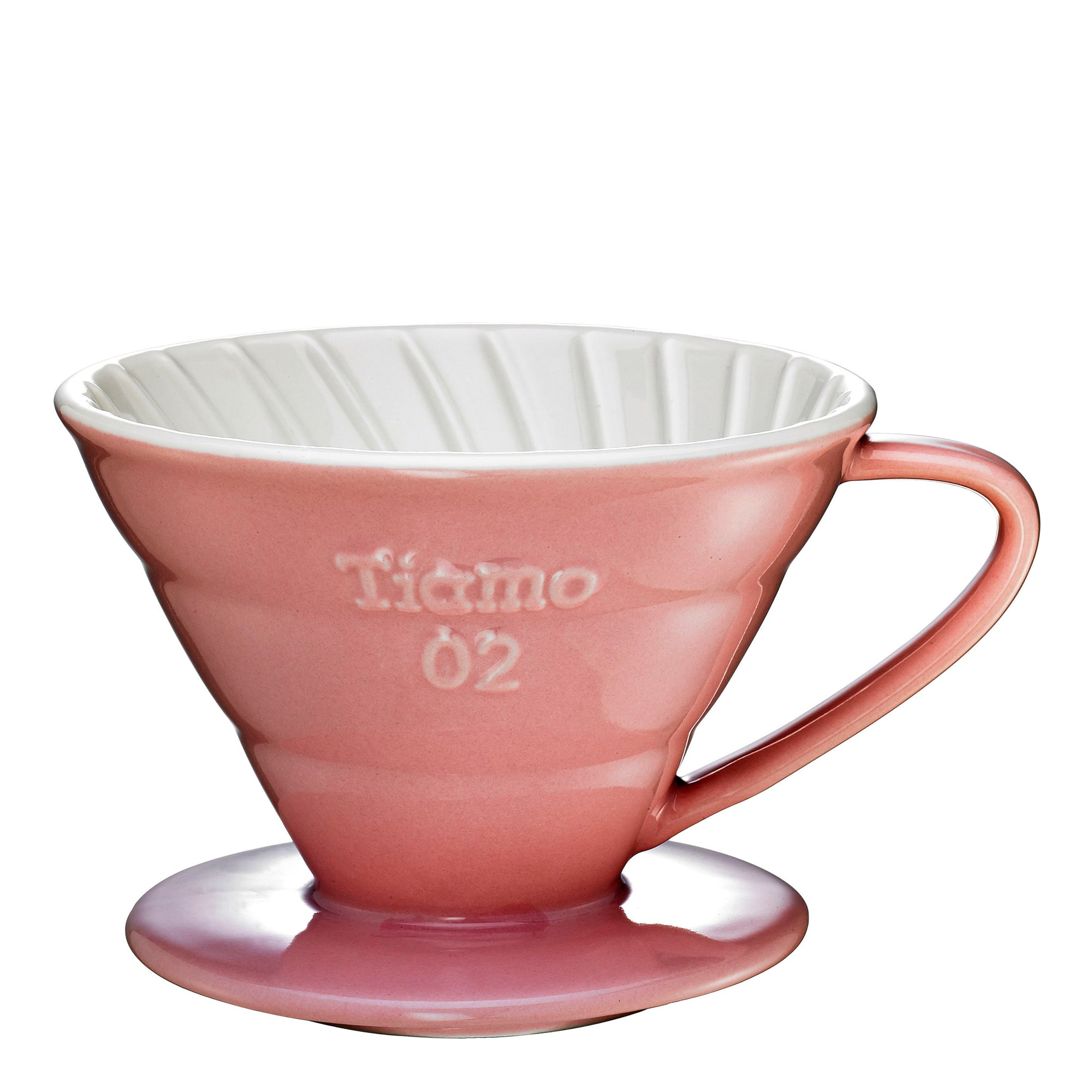 Filter V60 Ceramic - pink - Tiamo - Espresso Gear