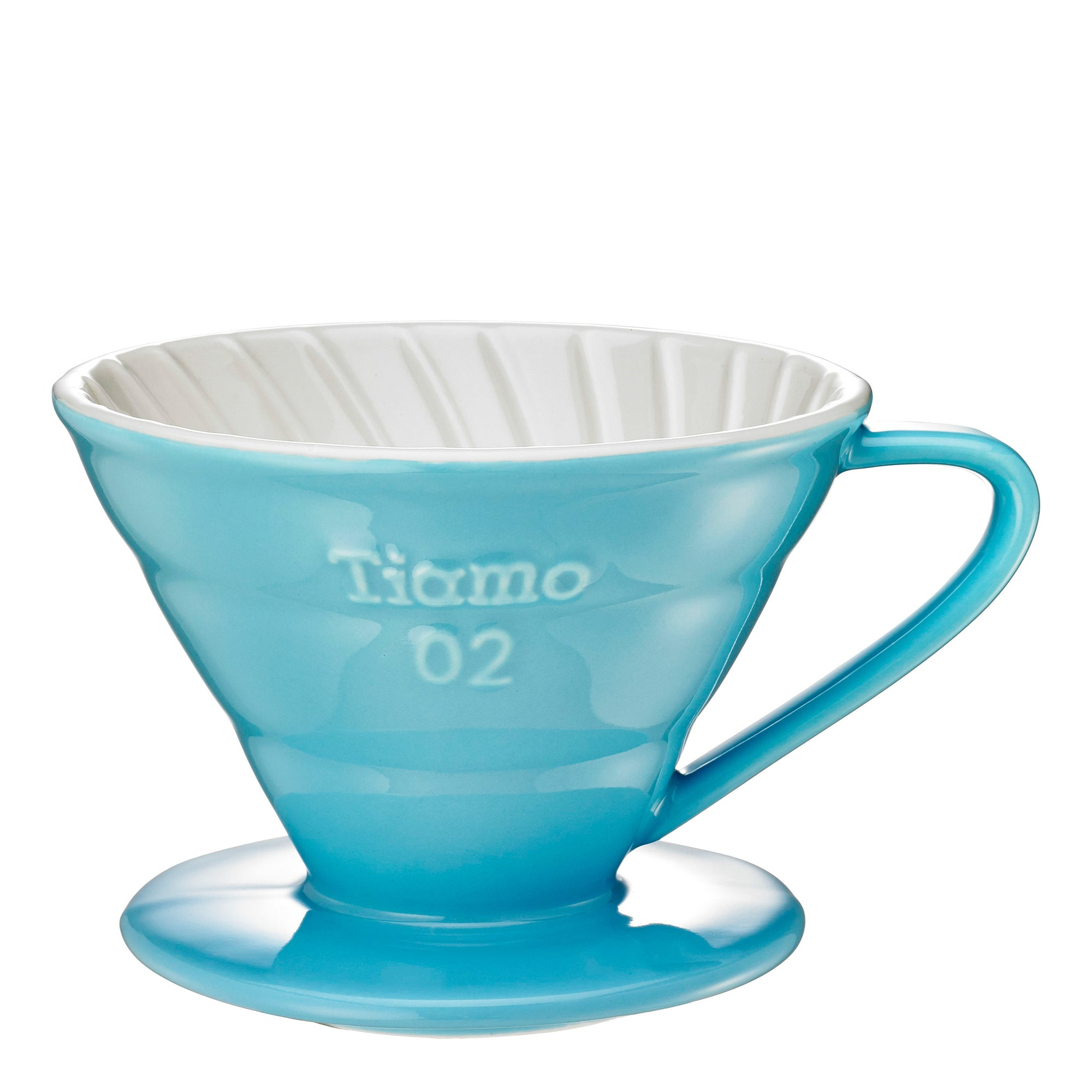 Tiamo V02 Ceramic Filter - Blue - Espresso Gear