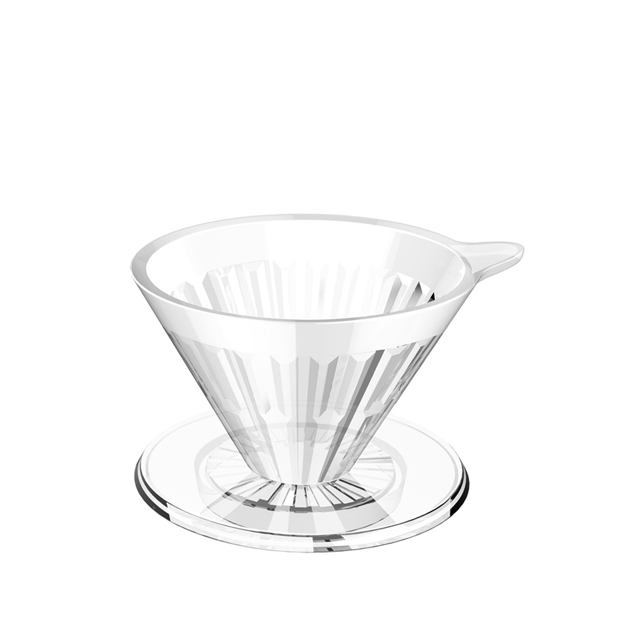 Filter V60 Plastic - Crystal Eye - Timemore - Espresso Gear