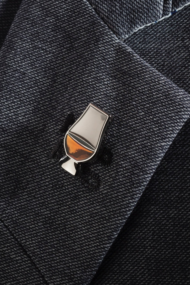 Glencairn Whisky Glass Lapel Pin