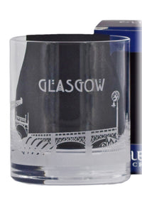 Glencairn Crystal, Skylines Collection, Glasgow Glass in Gift Box