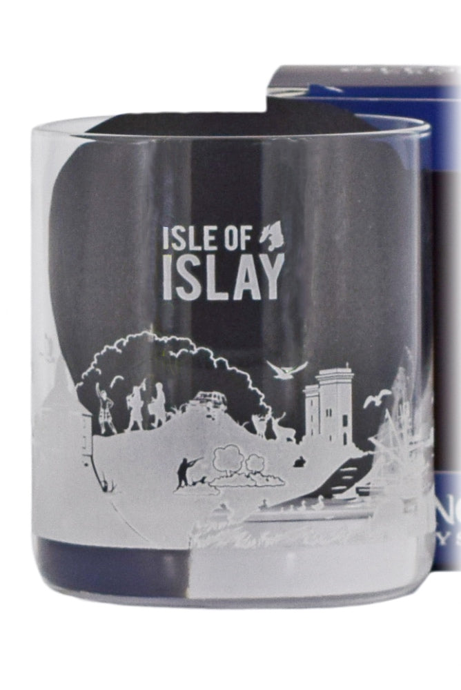 Glencairn Crystal, Skylines Collection, Islay Glass in Gift Box