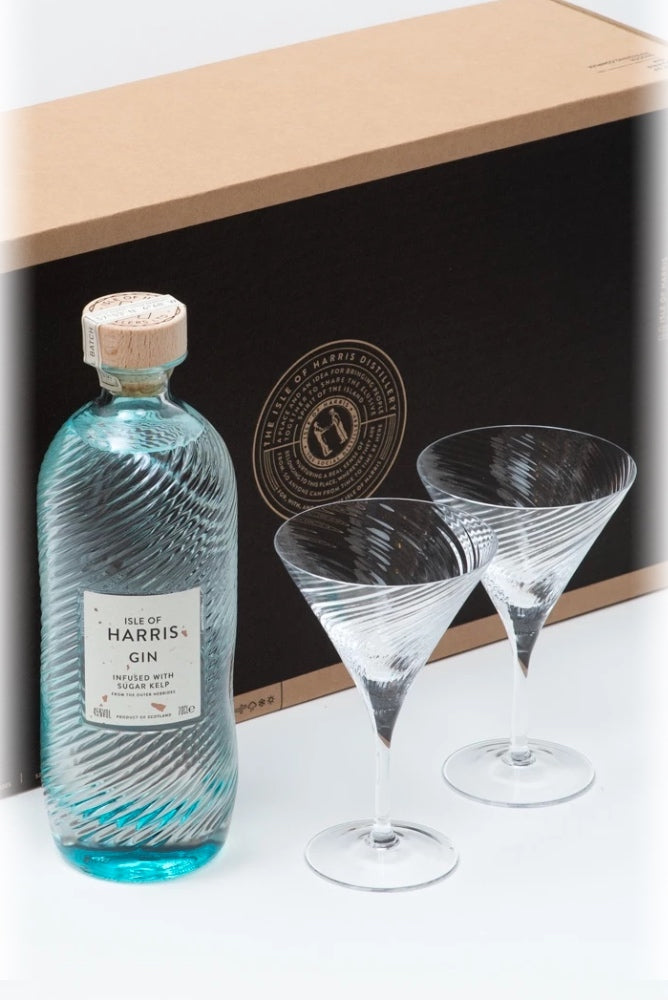 Isle of Harris Gin Martini Gift Set