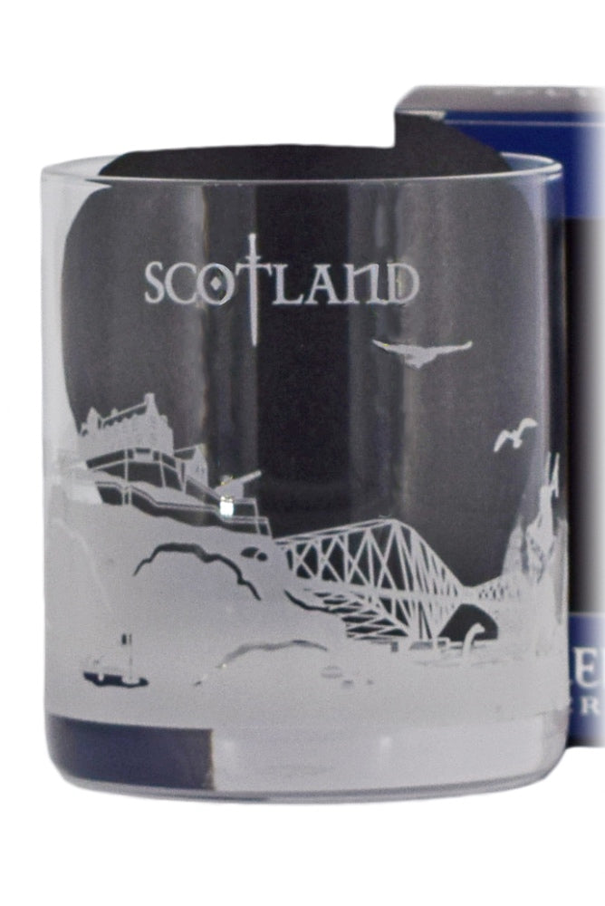 Glencairn Crystal, Skylines Collection, Scotland Glass in Gift Box