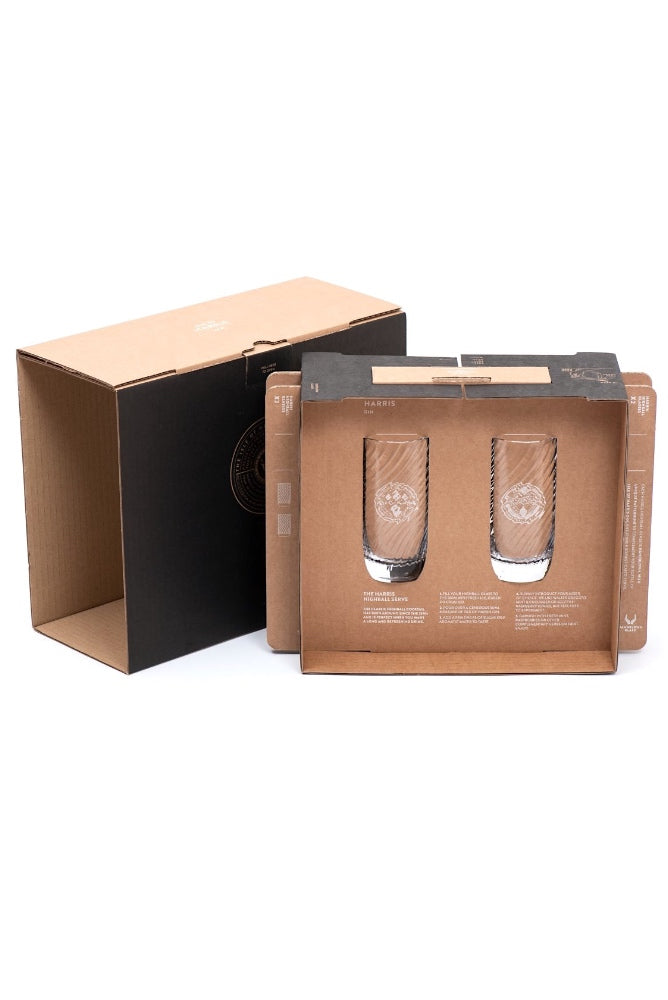 Isle of Harris Highball Twin Gift Set