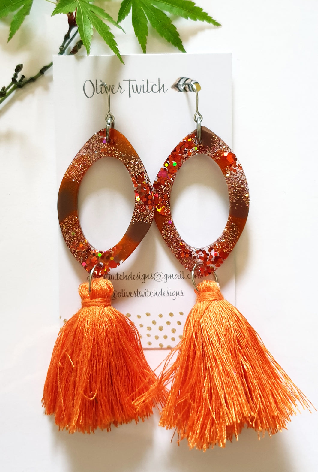 Piper Tassels - Burnt Orange