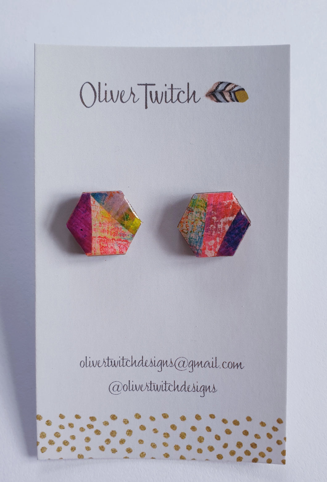 Hexagon Studs no. 5
