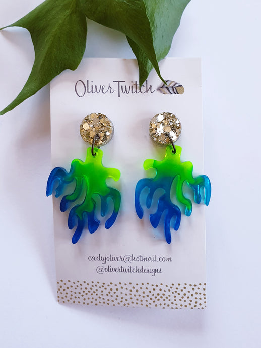 Coral reef Dangles