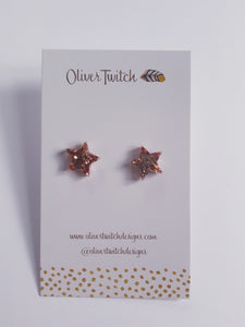 Mini Stars  - Light Rose Gold