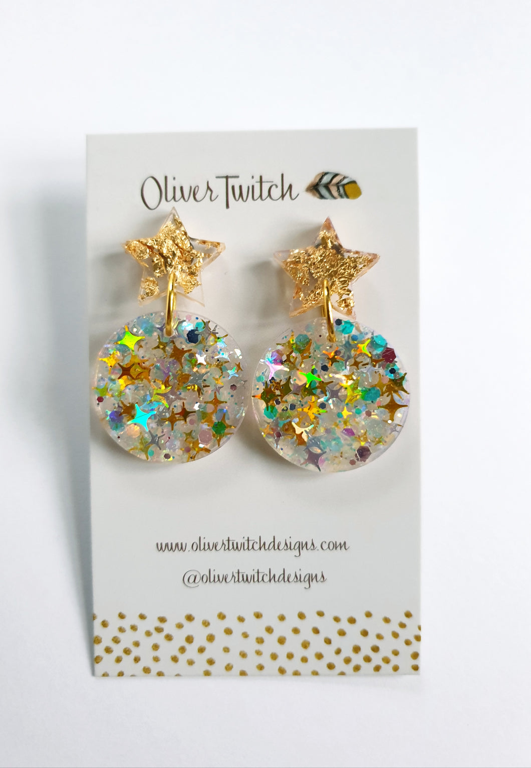 Ear Baubles - Golden Glow