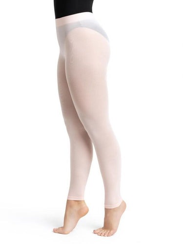 Footless Tight with Self Knit Waistband