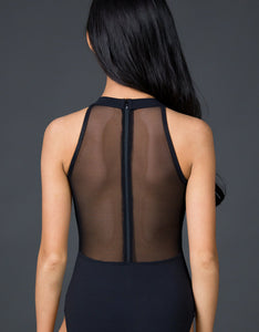 Conservation Mock Neck Leotard
