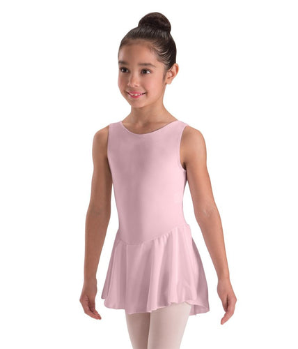 Skirted Tank Leotard Dress