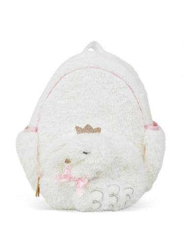 Swan Plush Backpack
