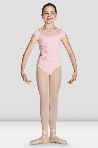 Helena Cap Sleeve Leotard